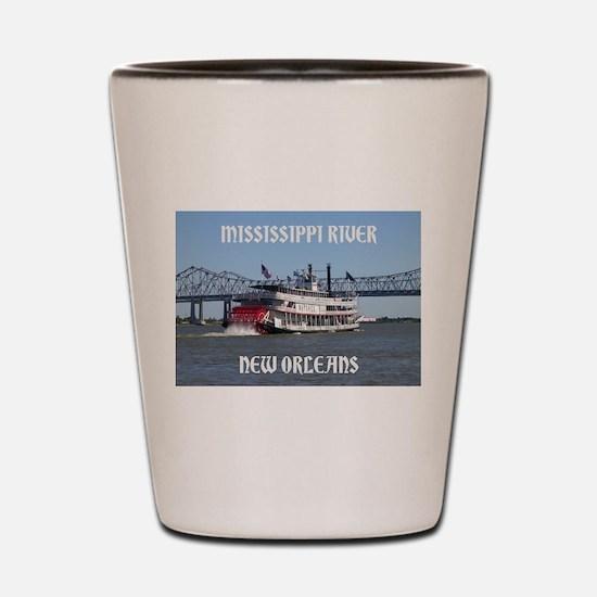 Cool Mississippi Shot Glass