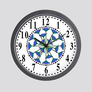 Eclectic Flower 202 Wall Clock