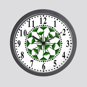 Eclectic Flower 207 Wall Clock