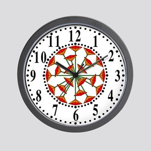 Eclectic Flower 212 Wall Clock