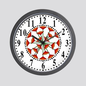 Eclectic Flower 213 Wall Clock