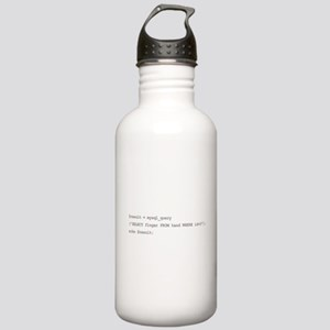 The sql middle finger Stainless Water Bottle 1.0L