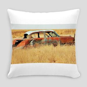 Kansas Hotrod Everyday Pillow