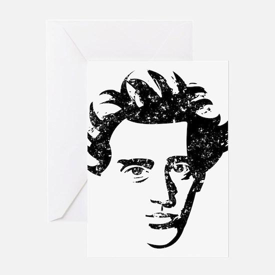Søren Aabye Kierkegaard Greeting Card
