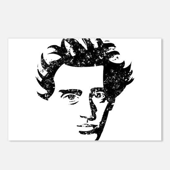 Søren Aabye Kierkegaard Postcards (Package of 8)