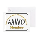American Assn Wedding Officiants Greeting Cards (P