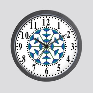 Eclectic Flower 182 Wall Clock