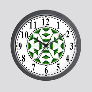 Eclectic Flower 189 Wall Clock