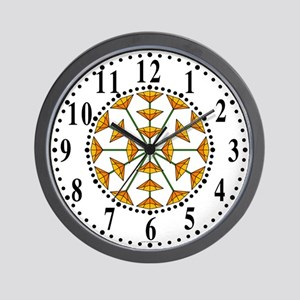 Eclectic Flower 190 Wall Clock