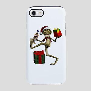 Dancing Nutcracker Santa Frog iPhone 7 Tough Case