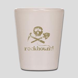 Rockhound Shot Glass
