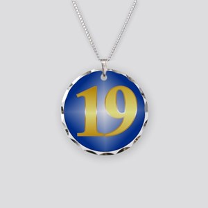 19 Year NA Birthday Necklace Circle Charm