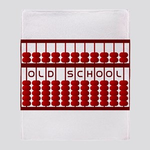 The Mighty Abacus Throw Blanket