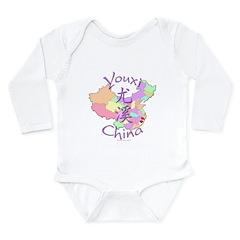 Youxi China Long Sleeve Infant Bodysuit
