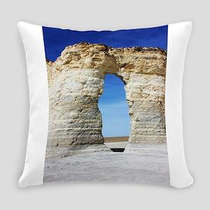 Kansas Badlands 3 Everyday Pillow