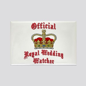 Official Royal Wedding Watcher Rectangle Magnet