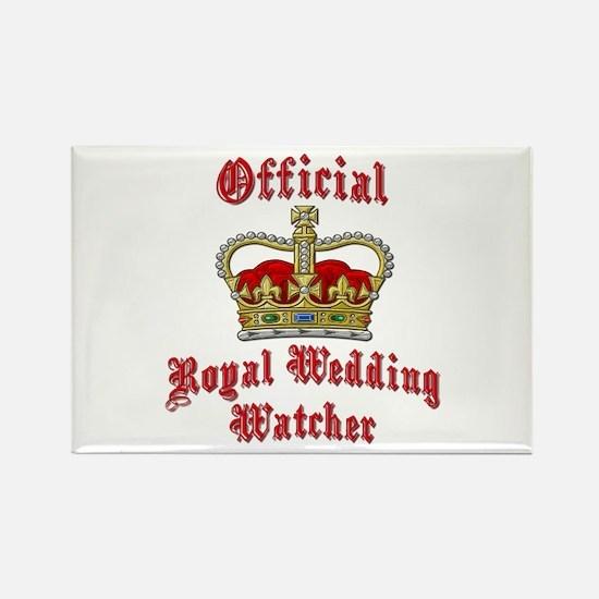 Official Royal Wedding Watcher Rectangle Magnet