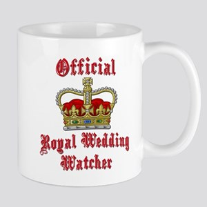 Official Royal Wedding Watcher Mug