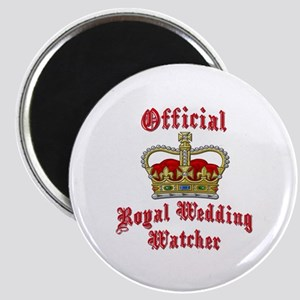 Official Royal Wedding Watcher Magnet