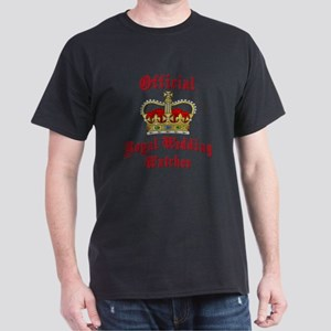 Official Royal Wedding Watcher Dark T-Shirt