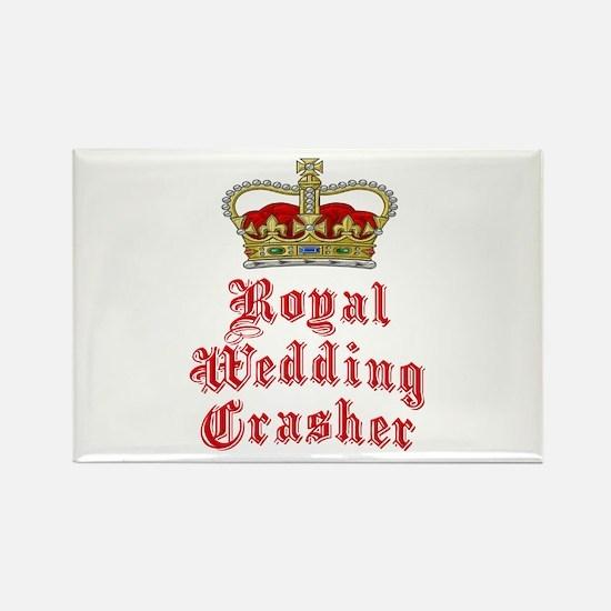 Royal Wedding Crasher Rectangle Magnet