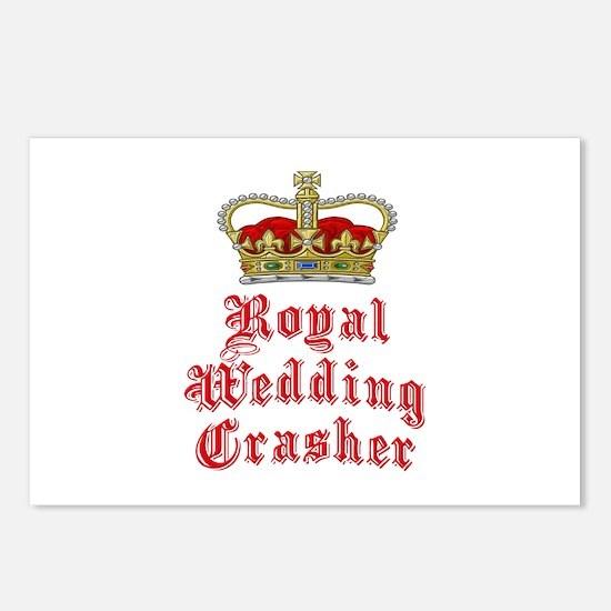 Royal Wedding Crasher Postcards (Package of 8)