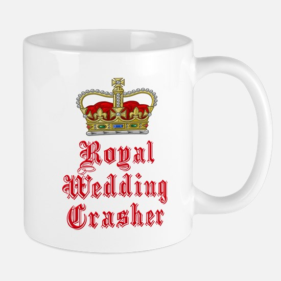 Royal Wedding Crasher Mug