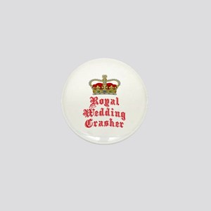 Royal Wedding Crasher Mini Button