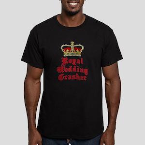 Royal Wedding Crasher Men's Fitted T-Shirt (dark)