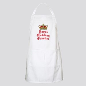 Royal Wedding Crasher Apron