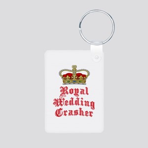Royal Wedding Crasher Aluminum Photo Keychain