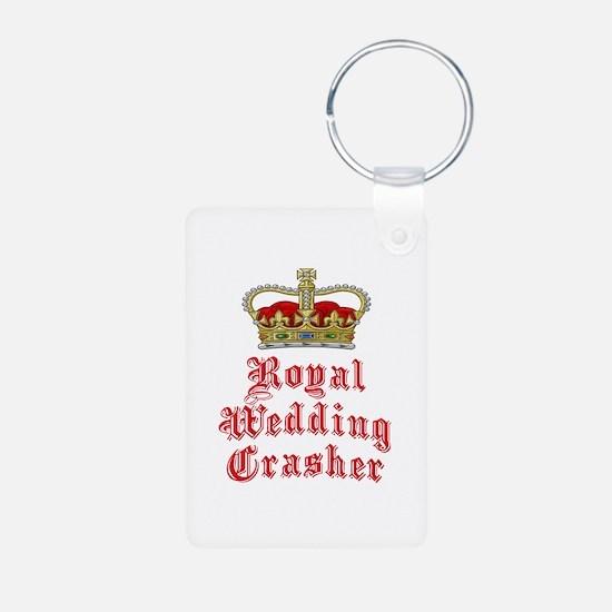Royal Wedding Crasher Keychains