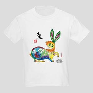 Moongate Year of the Rabbit Kids Light T-Shirt