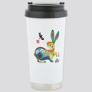 Moongate Year of the Rabbit Stainless Steel Travel