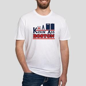 Kickin' Ass Boston Fitted T-Shirt