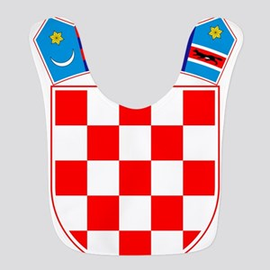 Croatia Coat of Arms Polyester Baby Bib