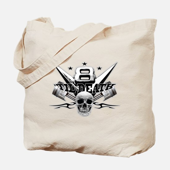 V8 'til death Tote Bag