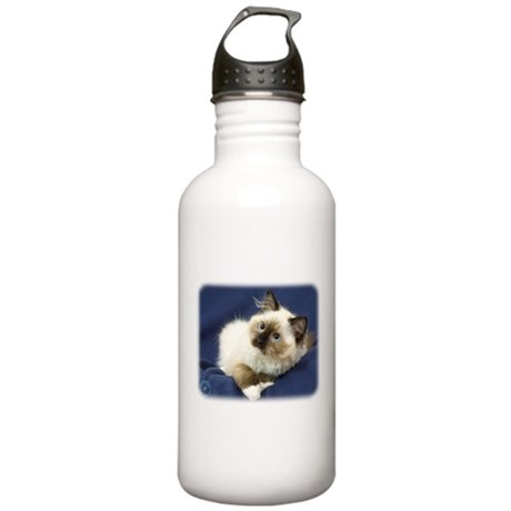 Ragdoll Cat 9W082D-011 Stainless Water Bottle 1.0L