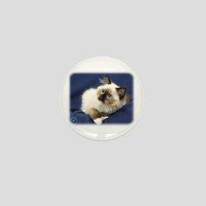 Ragdoll Cat 9W082D-011 Mini Button