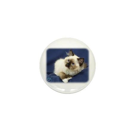 Ragdoll Cat 9W082D-011 Mini Button (100 pack)