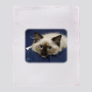 Ragdoll Cat 9W082D-020 Throw Blanket