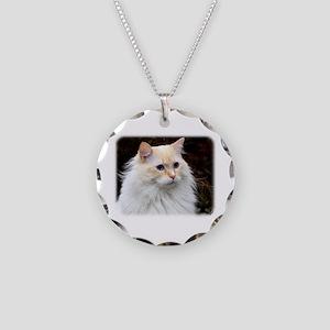 Ragdoll Cat 9W082D-020 Necklace Circle Charm