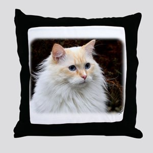 Ragdoll Cat 9W082D-020 Throw Pillow