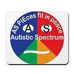Autism symbol Mousepad