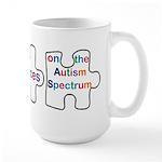 Autism symbol Large Mug