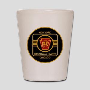 Pennsylvania Railroad, Broadway limited Shot Glass