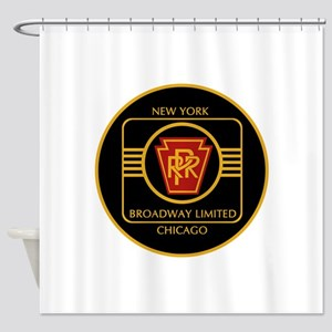 Pennsylvania Railroad, Broadway lim Shower Curtain