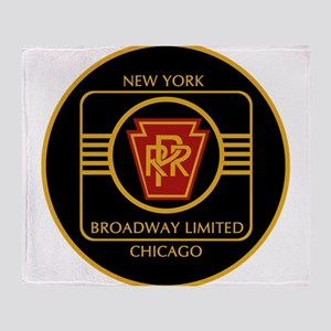 Pennsylvania Railroad, Broadway limi Throw Blanket