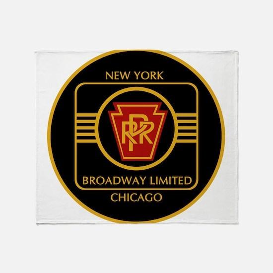 Pennsylvania Railroad, Broadway limi Throw Blanket