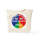 Autism symbol Tote Bag